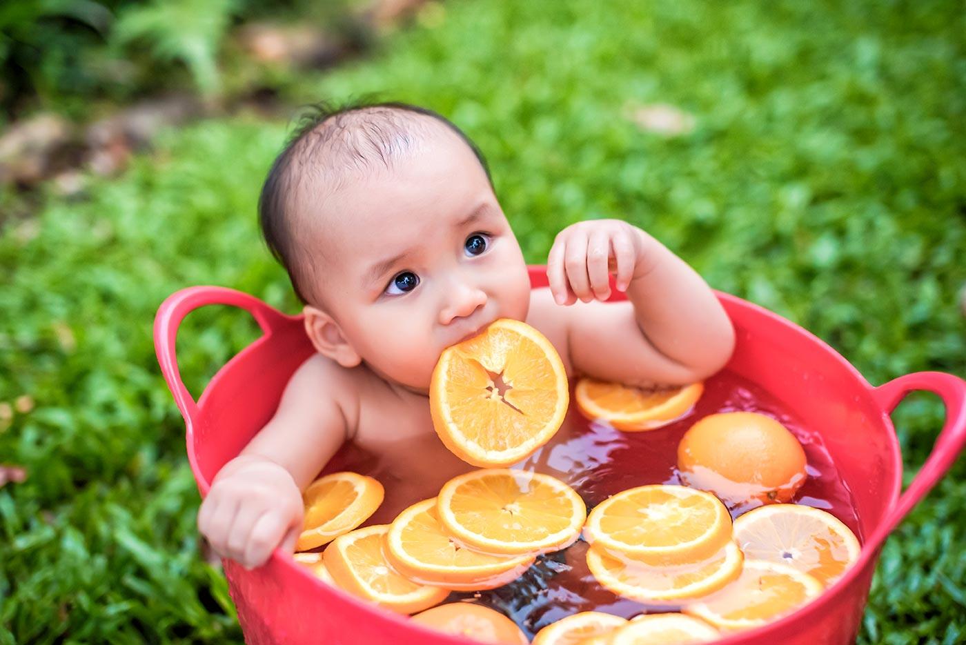 寶寶泡澡 周歲寫真 寶寶主題攝影 小旺帝