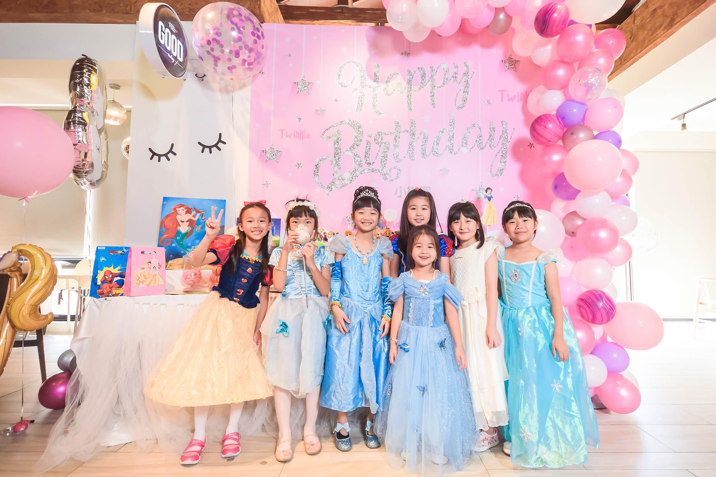 活動紀錄攝影 生日派對攝影 小公主生日派對 生日派對專業攝影 小樂圓生日派對