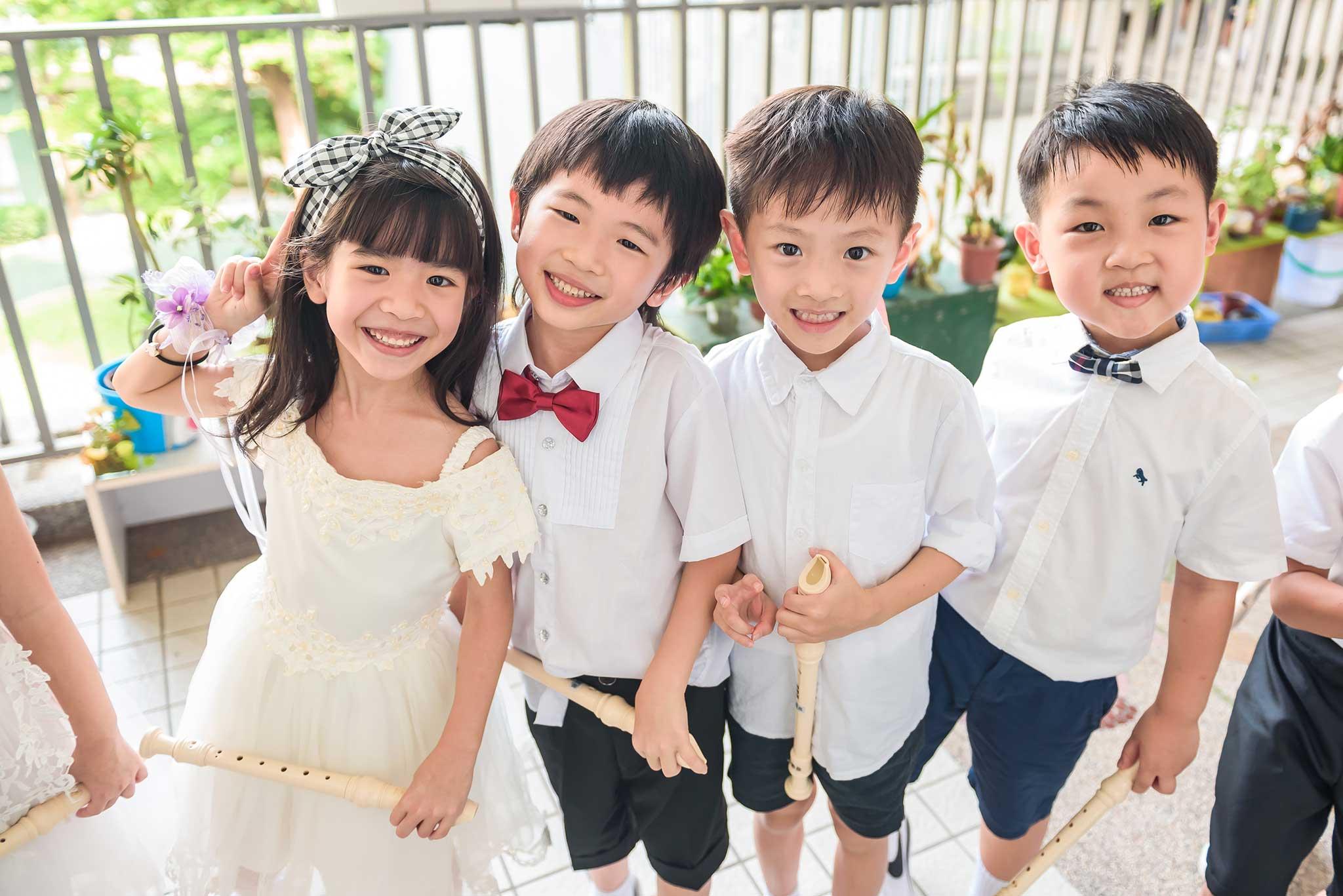 幼稚園三五好友合照 畢業典禮攝影