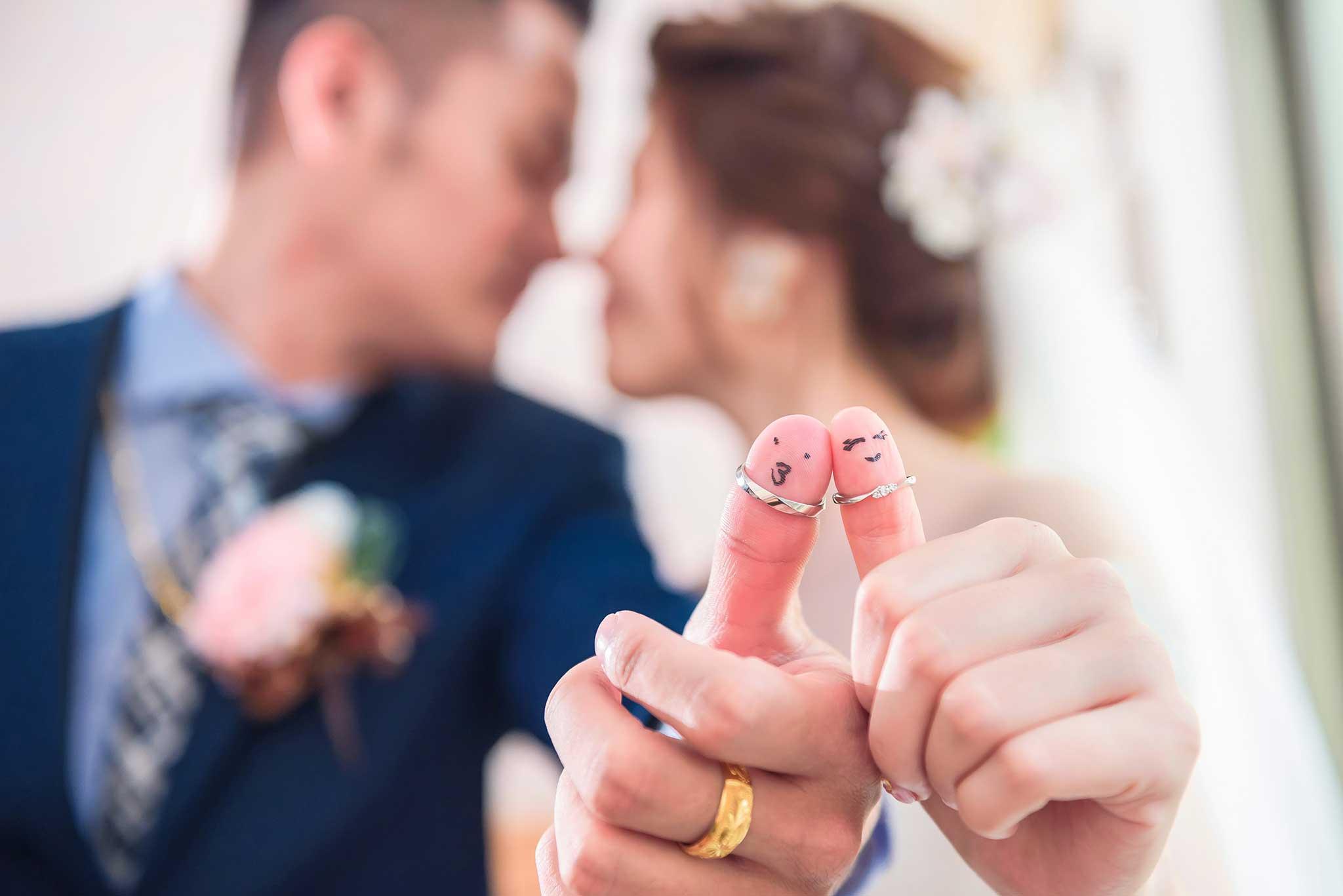 婚攝推薦 婚紗意境,親吻新娘