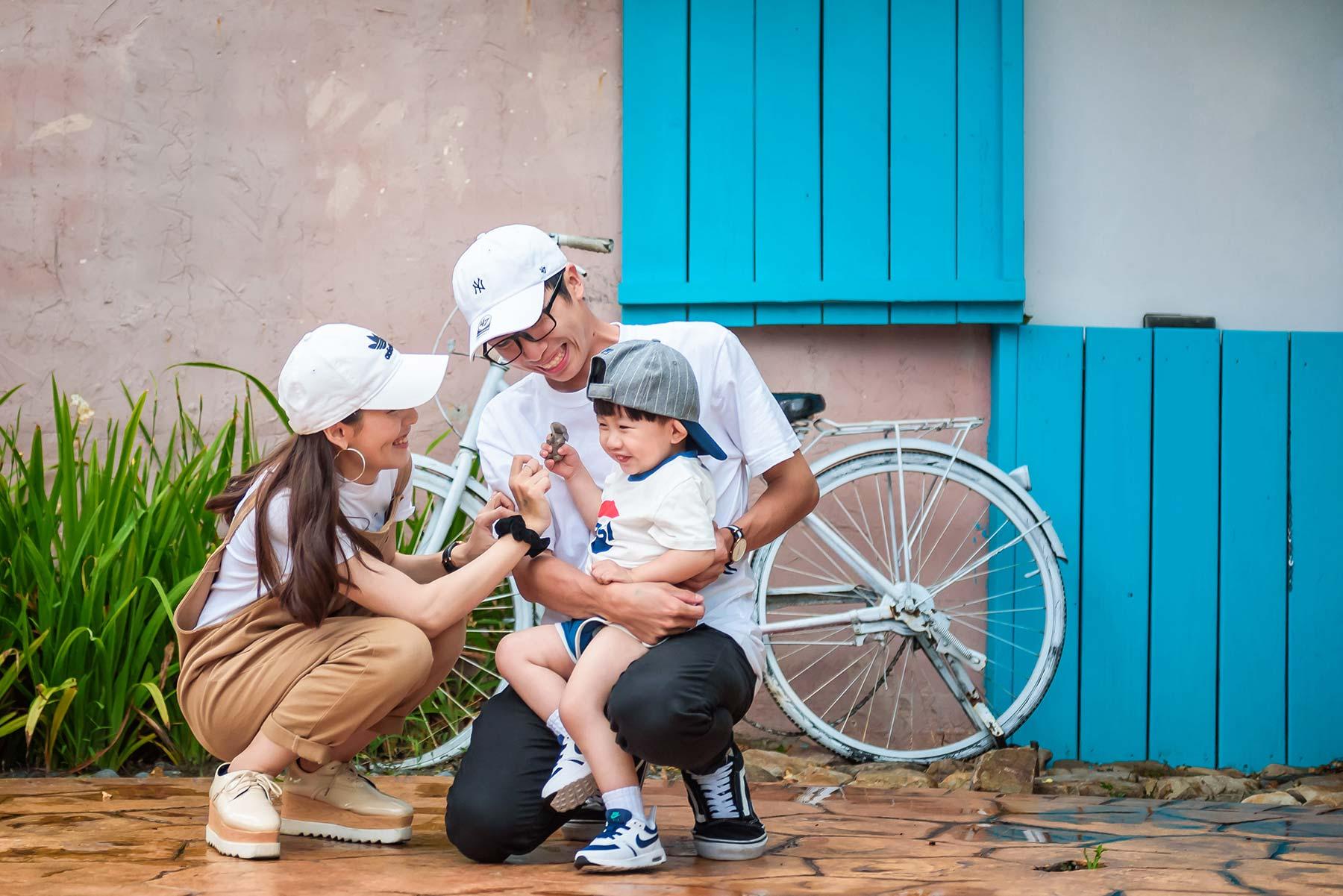親子互動 親子時光 甜蜜印象親子 中部親子寫真 親子攝影