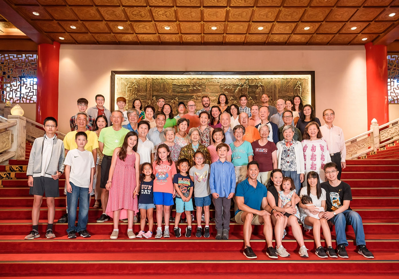 全家福寫真 家族大合照 圓山大飯店合照 甜蜜印象攝影工作室