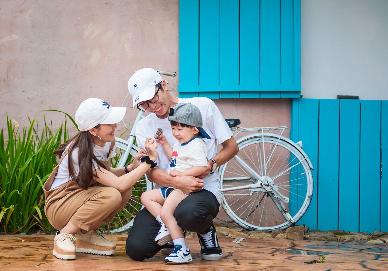 親子互動 親子時光 中部親子寫真 親子攝影 甜蜜印象親子寫真